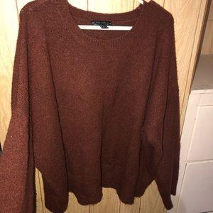 3x rust sweater